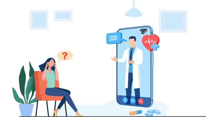 Address the Stress With Teleconsultation During Covid 19